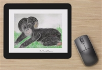 """Baby Chimp"" Mouse Pad"