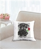 """Rose"" Throw Pillow"