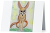 """ Fennec Fox Sitting"" Note Cards"
