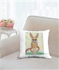 """Fennec Fox Sitting"" Throw Pillow"