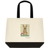 """Fennec Fox Sitting"" Tote Bag"