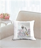 """Bohemian Waxwing"" Throw Pillow"