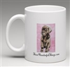"""Chocolate Lab Pup"" Coffee Cup"