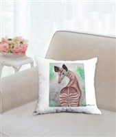 """Okapi"" Throw Pillow"