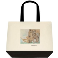 """Rhino Mom"" Tote Bag"