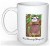 """Sloth"" Coffee Cup"