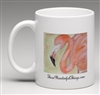 """Flamingo"" Coffee Cup"