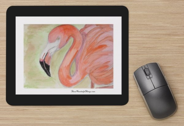 """Flamingo"" Mouse Pad"