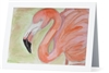 """Flamingo"" Note Cards"