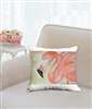 """Flamingo"" Throw Pillow"