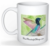 """Hummingbird"" Coffee Cup"