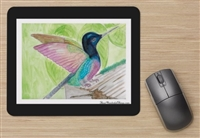 """Hummingbird"" Mouse Pad"