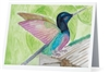 """Hummingbird"" Note Cards"