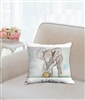 """Elephant Sport"" Throw Pillow"
