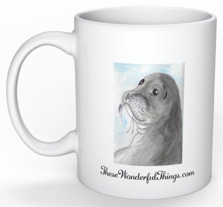"""Seal"" Coffee Cup"