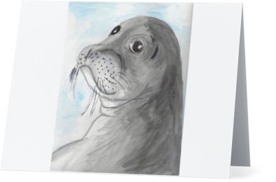 """Seal"" Note Cards"