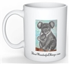 """Koala Mom"" Coffee Cup"