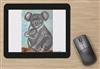 """Koala Mom"" Mouse Pad"