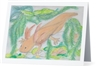 """Axolotl"" Note Cards"