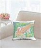 """Axolotls"" Throw Pillow"