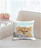 """Cub"" Throw Pillow"