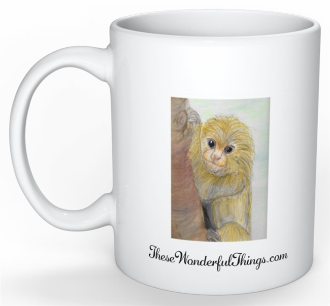 """Marmoset"" Coffee Cup"