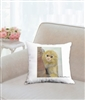 """Marmoset"" Throw Pillow"