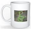 """Green Snake"" Coffee Cup"