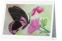 """Butterfly"" Note Cards"