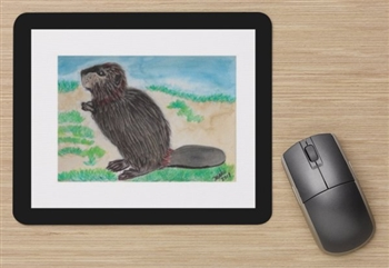 """Beaver"" Mouse Pad"