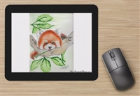 """Red Panda"" Mouse Pad"