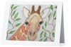 """Giraffe"" Note Cards"