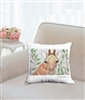 """Giraffe"" Throw Pillow"