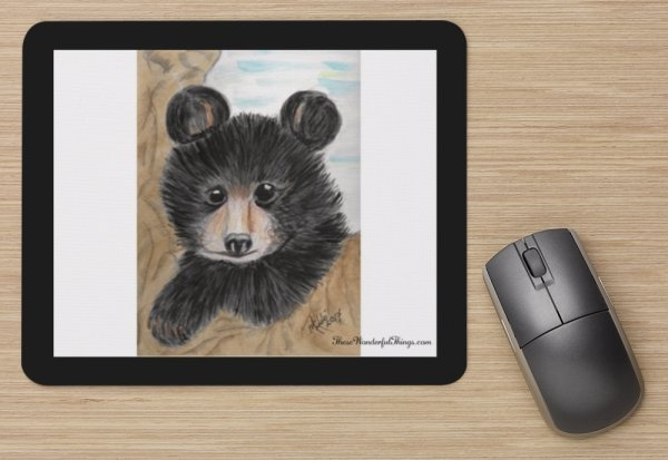 """Bear"" Mouse Pad"