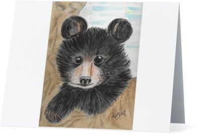 """Bear"" Note Cards"
