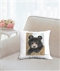 """Bear"" Throw Pillow"
