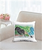 """Eloise and Carl"" Throw Pillow"