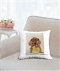 """Dachshundl"" Throw Pillow"