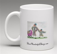 """The Carriage"" Coffee Cup"