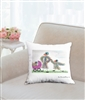 """The Carriage"" Throw Pillow"