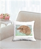 """Pangolin"" Throw Pillow"