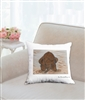"""Playing In Mud"" Throw Pillow"