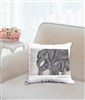 """Linking Trunks"" Throw Pillow"