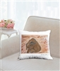 """Sitting In Mud"" Throw Pillow"
