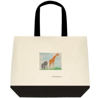 """Eloise and Ginger"" Tote Bag"