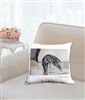 """Climbing"" Throw Pillow"