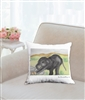 """Stretching"" Throw Pillow"