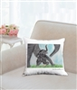 """Tickle Me"" Throw Pillow"