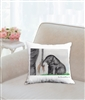 """Elephant Tail"" Throw Pillow"