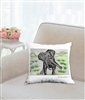 """Eloise Dances"" Throw Pillow"